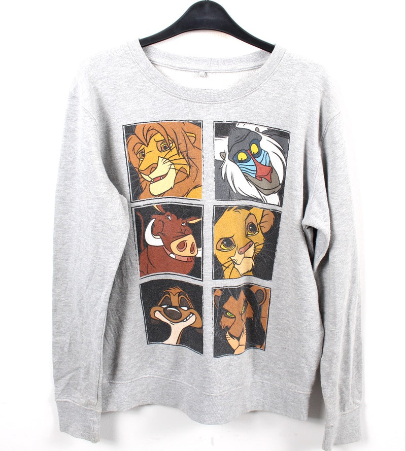 VINTAGE LION KING CARTOON SWEATER - SIZE S