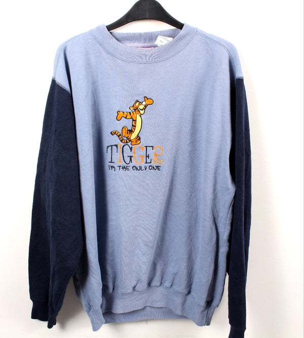 VINTAGE TIGGER CARTOON SWEATER - SIZE L