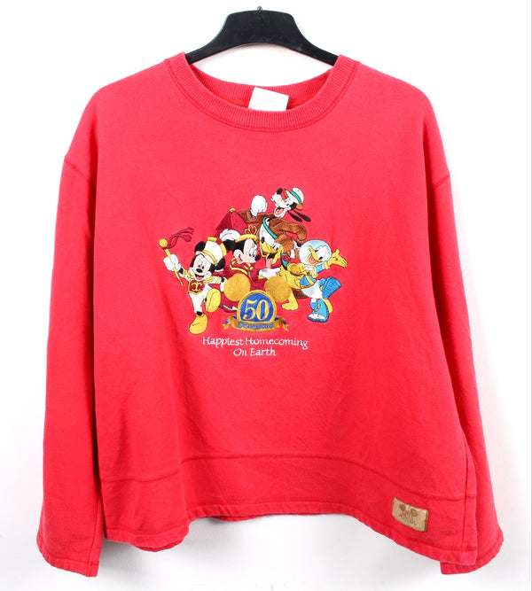 VINTAGE DISNEY CARTOON SWEATER - SIZE XL