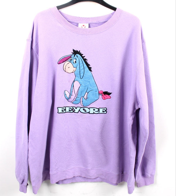 VINTAGE EEYORE CARTOON SWEATER - SIZE 2XL