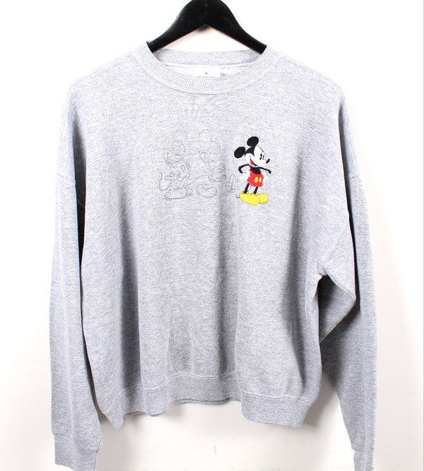 VINTAGE MICKEY MOUSE CARTOON SWEATER - SIZE S