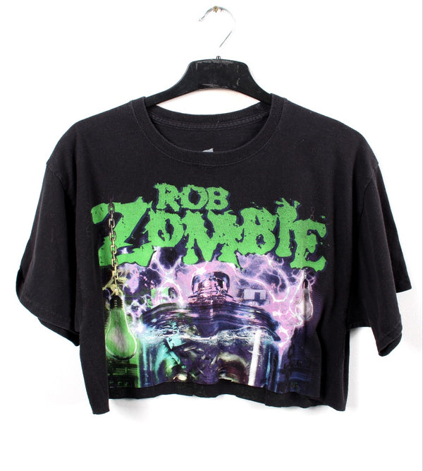 VINTAGE BAND T SHIRT- SIZE L - ROB ZOMBIE