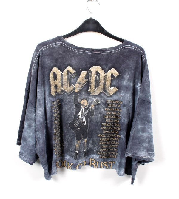 VINTAGE BAND T SHIRT- SIZE 2XL - ACDC