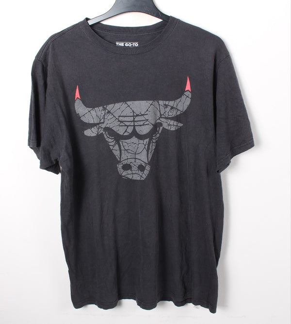 VINTAGE NBA CHICAGO BULLS PRO SPORTS TEE - SIZE L