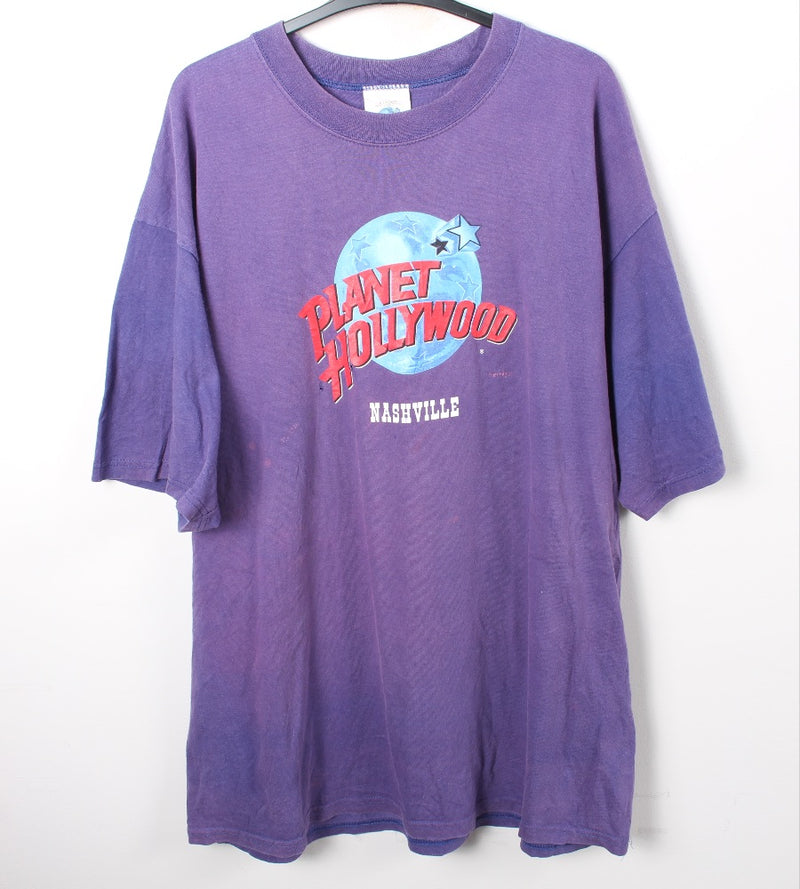 VINTAGE PLANET HOLLYWOOD TEE - SIZE XL