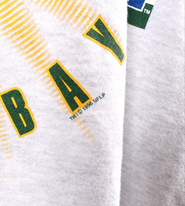 VINTAGE GREEN BAY PACKERS PRO SPORTS SWEATER - SIZE L