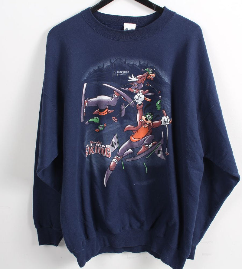 VINTAGE GOOFY CARTOON SWEATER - SIZE XL