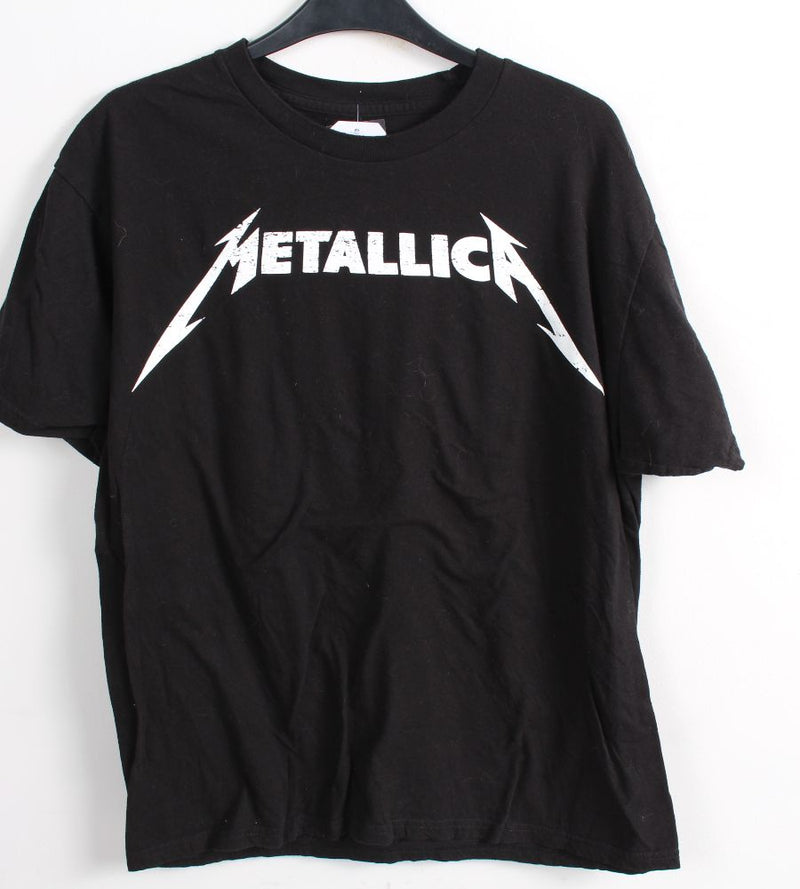 VINTAGE BAND T SHIRT- SIZE L - METALLICA