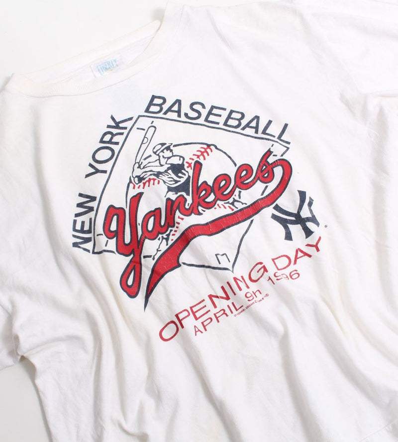 VINTAGE NEW YORK YANKEES 1996 PRO SPORTS TEE - SIZE XL