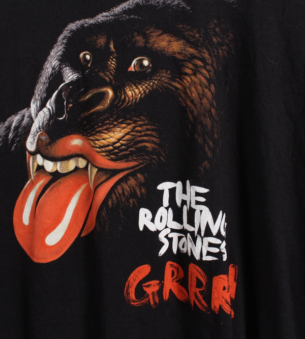 VINTAGE BAND T SHIRT- SIZE YOUTH L/ADULT XS - THE ROLLING STONES