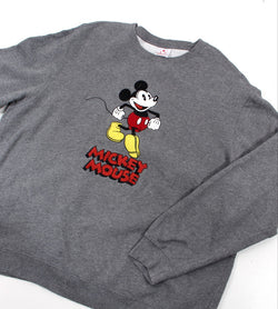 VINTAGE MICKEY MOUSE  CARTOON SWEATER - SIZE L