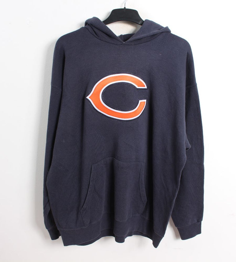 VINTAGE CHICAGO BEARS HOODIE - SIZE L