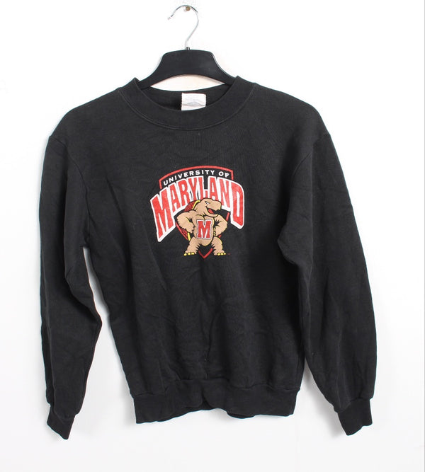 VINTAGE UNI OF MARYLAND YOUTH SWEATER - SIZE L