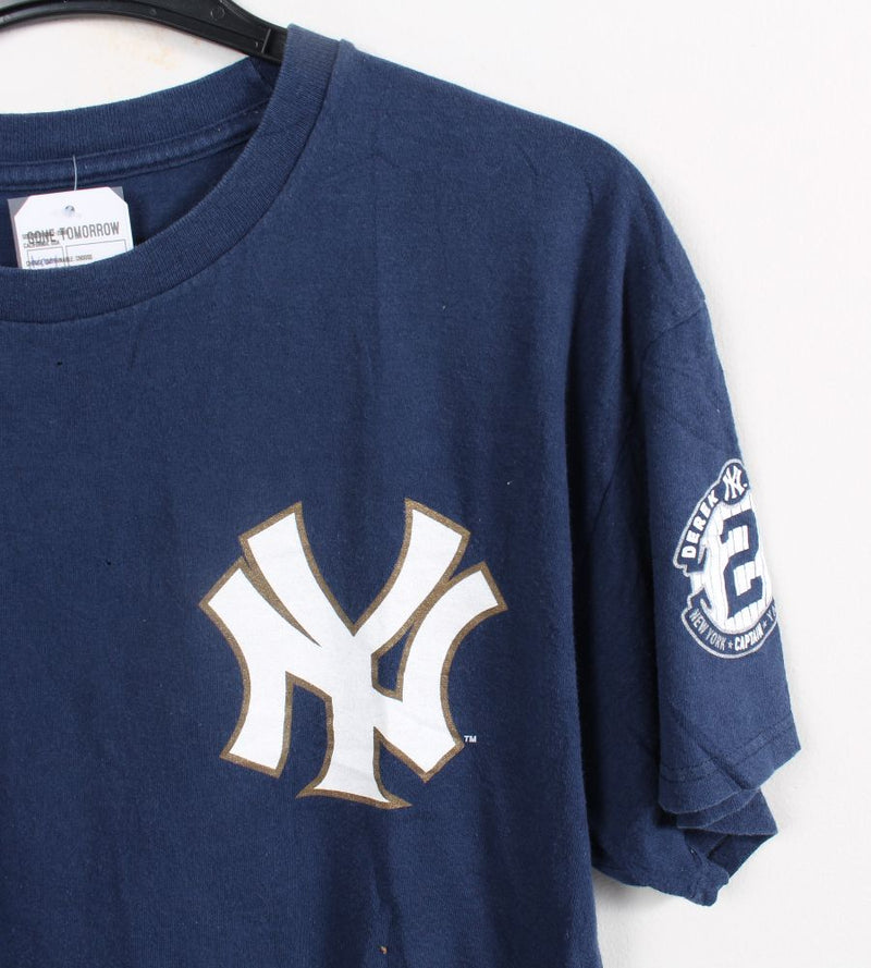 VINTAGE NEW YORK YANKEES PRO SPORTS TEE - SIZE L