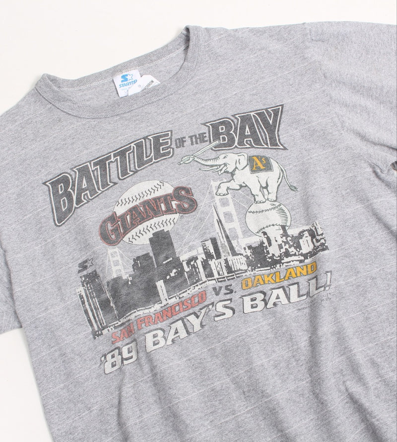VINTAGE BATTLE OF THE BAY PRO SPORTS TEE - SIZE L