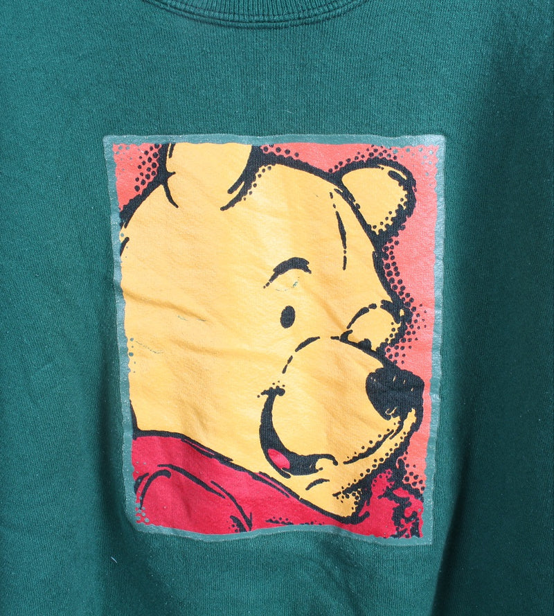 VINTAGE WINNIE THE POOH CARTOON SWEATER - SIZE L
