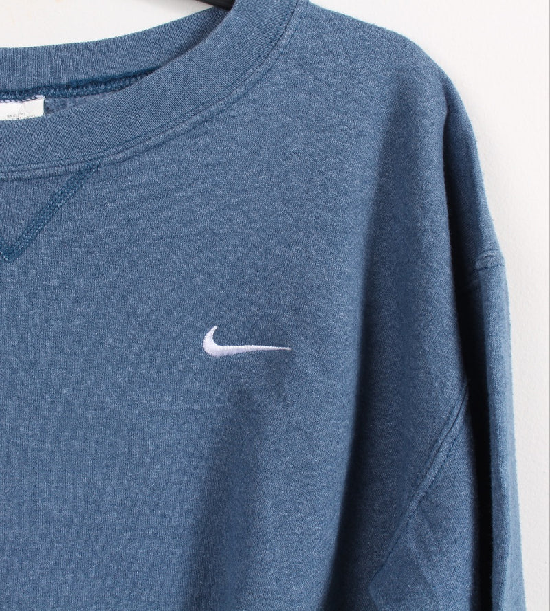 VINTAGE NIKE SPELLOUT SWEATER - SIZE M