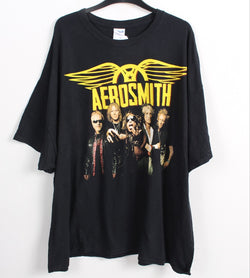 VINTAGE BAND T SHIRT- SIZE 3XL - AEROSMITH