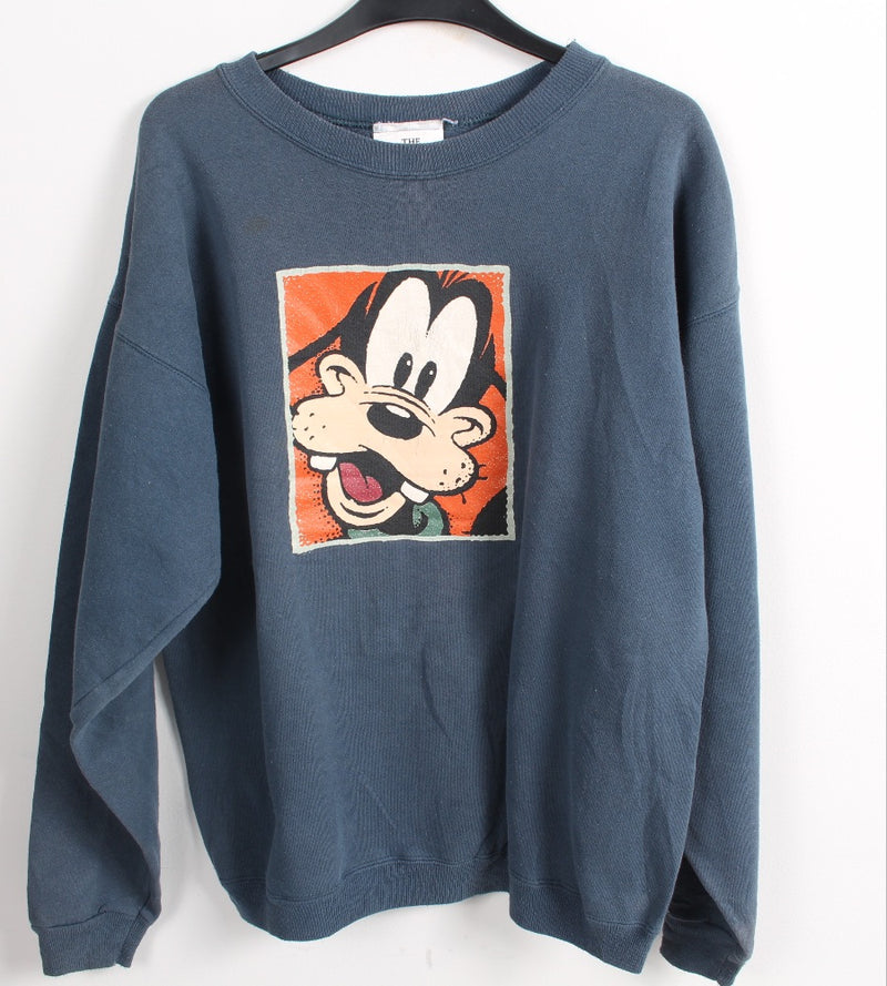 VINTAGE GOOFY CARTOON SWEATER - SIZE M