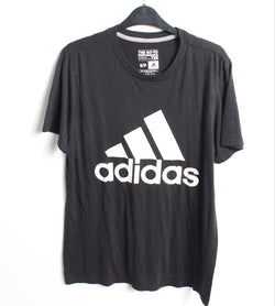 VINTAGE ADIDAS SPORTS TEE - SIZE S