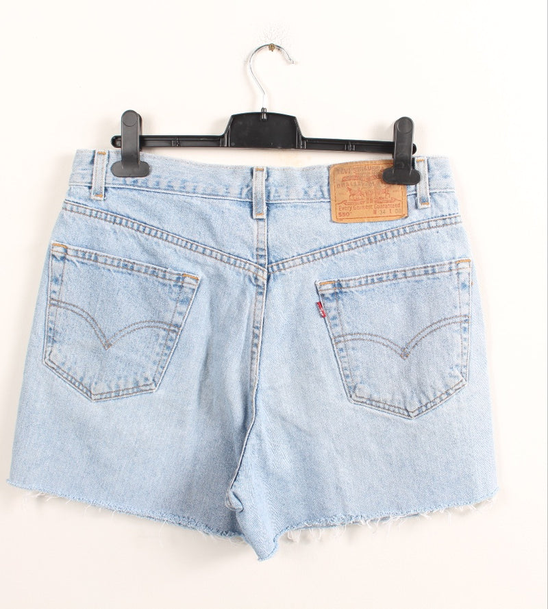 VINTAGE LEVIS DENIM SHORT - SIZE 34