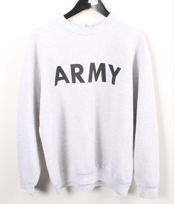 VINTAGE MILITARY/ARMY SWEATER - SIZE L (FITS LIKE M)
