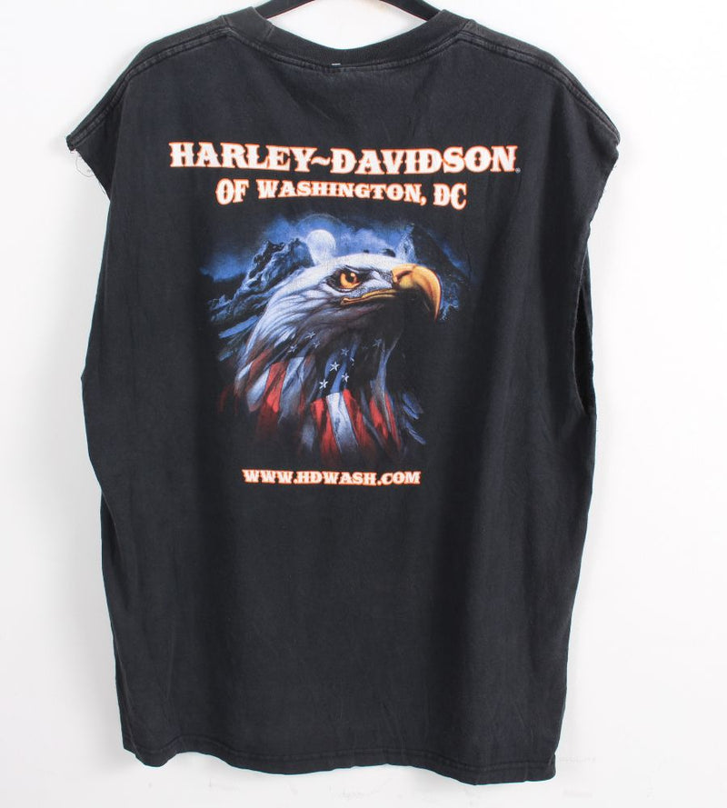 VINTAGE HARLEY DAVIDSON MUSCLE T SHIRTS- SIZE XL