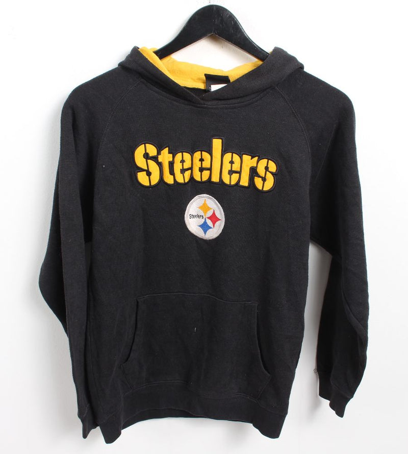 VINTAGE PITTSBURGH STEELERS HOODIE - SIZE M (WOMENS FIT)