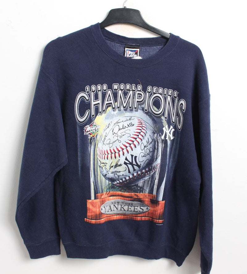 VINTAGE NEW YORK YANKEES SWEATER - SIZE M