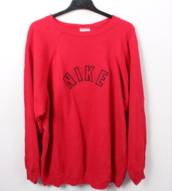 VINTAGE NIKE SPELLOUT SWEATER - SIZE 2XL