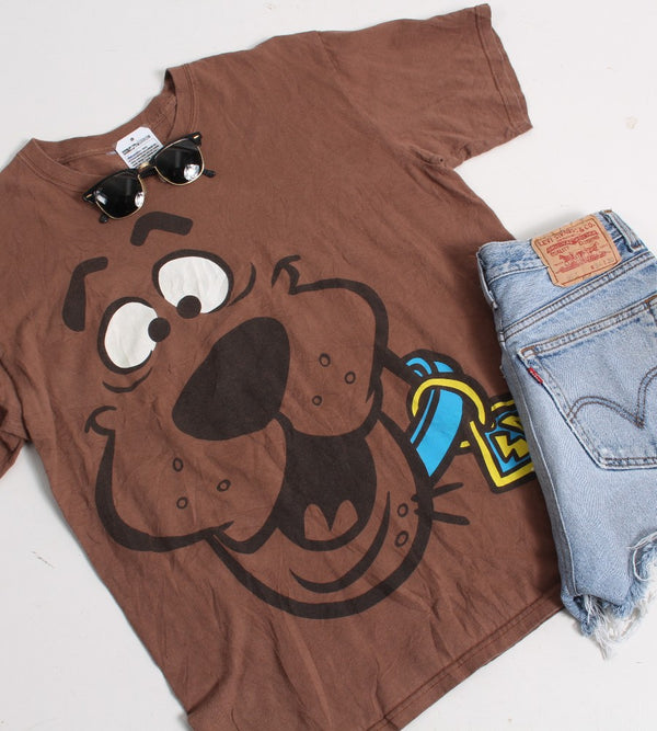 VINTAGE CARTOON T SHIRTS - SCOOBY DOO - SIZE L