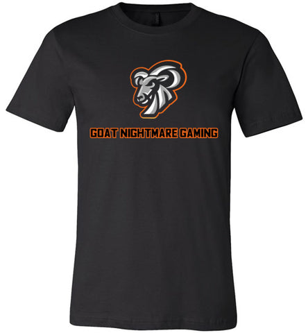 Goat Nightmare Gaming Logo Premium Tee