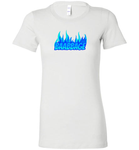 Baabbage Blue Flame Ladie's Tee