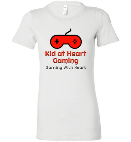 Kid at Heart Gaming Ladies Premium Logo Tee