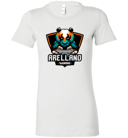 Arellano Gaming Logo Ladie's Tee