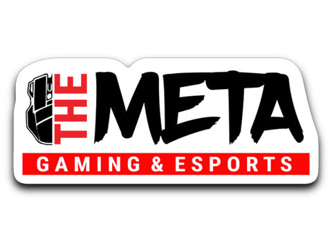 The Meta Logo Sticker