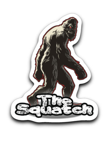 The Squatch Logo Sticker