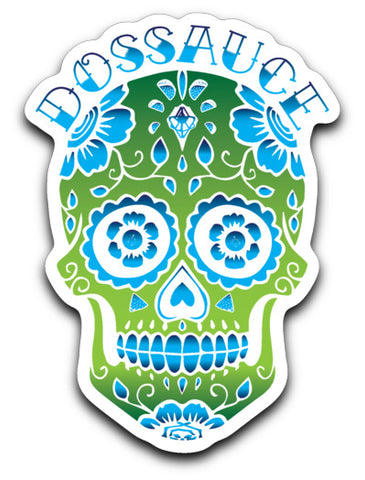 Dossauce Skull Sticker