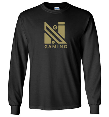 NoGi Gold Logo Long Sleeve Tee