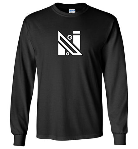NoGi Whiteout Logo Long Sleeve Tee