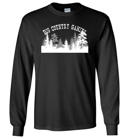 Big Country Gaming Long Sleeve Tee