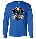 Arellano Gaming Logo Long Sleeve Tee