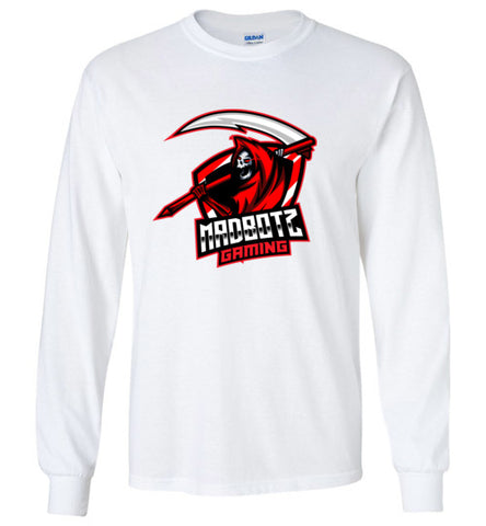 MadBotzGaming Long Sleeve Logo Tee