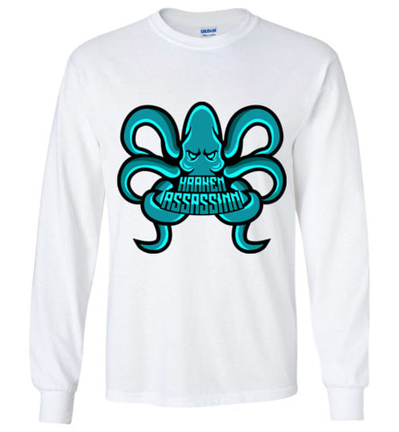 Kraken_Assassinn Premium Long Sleeve Logo Tee