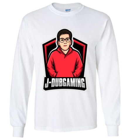 JDub Gaming Long Sleeve Logo Tee