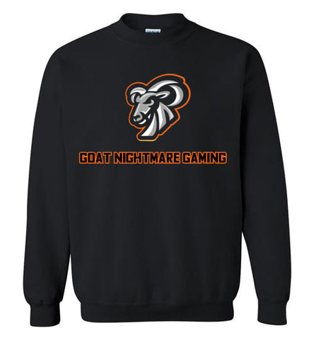 Goat Nightmare Gaming Logo Crewneck