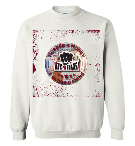 Murder 4 Money & Glory Gaming Logo Sweatshirt