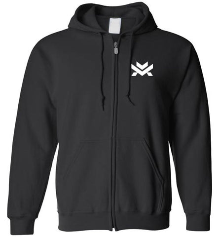 Montelongo New Logo Zip Up Hoodie