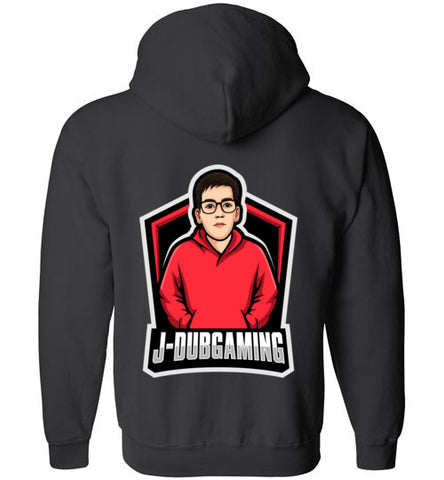 JDub Gaming Zip-Up Logo Hoodie