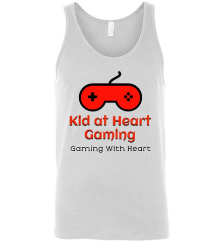 Kid at Heart Gaming Premium Logo Tank